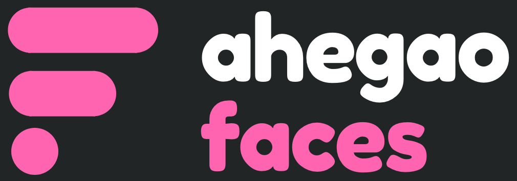 ahegao faces logo